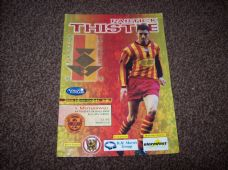 Partick Thistle v Motherwell, 2002/03 [apr]